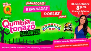 ¡Ellos ganaron entradas para El Qumbiatonazo por Halloween de Radio Nueva Q!