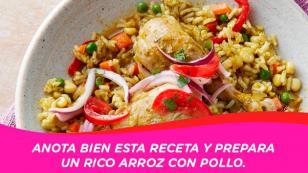 ¡Engríe a papá y prepárale un rico arroz con pollo!