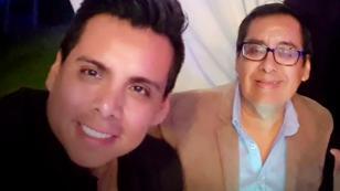 Este fue el tierno regalo de Víctor Yaipén para su padre (VIDEO)