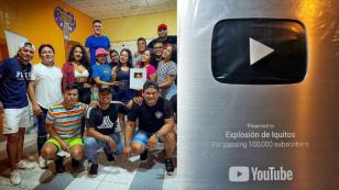 Explosión de Iquitos llegó a 100mil suscriptores en YouTube