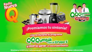 ¡Gana electrodomésticos con Radio Nueva Q y el Grupo5!