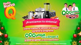 ¡Gana electrodomésticos en 'QQQumbia con el Grupo5'!