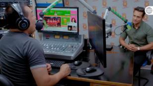 Gary Gavilán de 'Ojitos Hechiceros 2' presentó su versión de 'El embrujo' en Nueva Q (VIDEO)