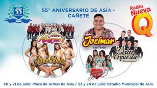 Gran Orquesta Internacional, Corazón Serrano, Alma Bella y más artistas estarán en el aniversario de Asia