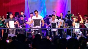 Gran Orquesta Internacional publicó imágenes de su concierto en Chile