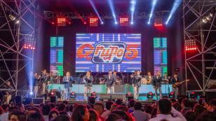 Grupo 5 celebra el éxito de 'El ritmo de mi corazón' y se alista para viajar a Europa