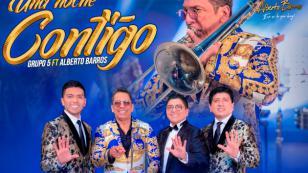 Grupo 5 y Alberto Barros estrenan 'Una noche contigo'