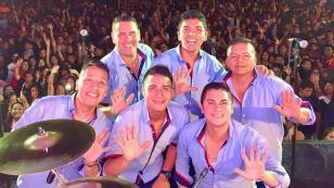 Grupo5 deslumbró en la 'Trilogía de la Cumbia'