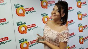 ¡Joa Geraldine recibió su premio a Chica Q del año en 'Qumbias y Risas'!