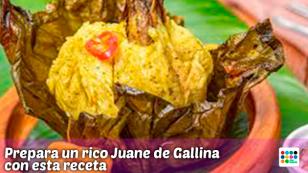 ¡Prepara un riquísimo Juane con esta receta!