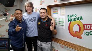 ¡Koky Bonilla alentó a la selección con Edwin Sierra y Oscar Del Río en 'Qumbias y Risas'! (VIDEO)