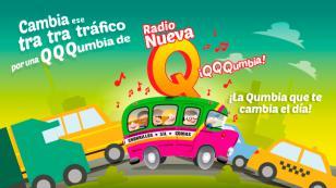 ¡La QQQumbia que te cambia el día está en Radio Nueva Q! (VIDEO)