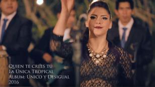 La Única Tropical nos presenta su nueva canción 'Quién te crees tú' (VIDEO)