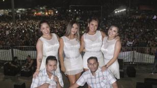 Las chicas de Puro Sentimiento disfrutaron de la fiesta de San Juan