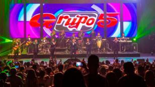 Las mejores fotos del concierto del Grupo5 en Argentina