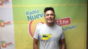 Leonard León, del Grupo América, sufrió accidente (FOTO)
