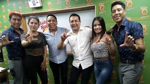 Lérida nos presentó su nueva canción 'Mil suspiros' en 'Qumbias y Risas' (VIDEO)