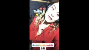 Lesly Águila anunció una nueva canción junto a Corazón Serrano