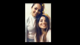 Lesly Águila visitó a Estrella Torres por su cumpleaños