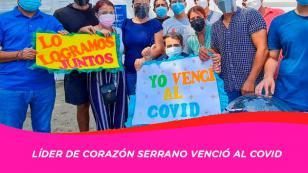 Líder de Corazón Serrano, Lorenzo Guerrero, venció al covid