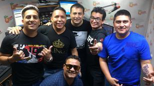 ¡Los Tigres de la Cumbia cantaron en vivo en 'Qumbias y Risas'!