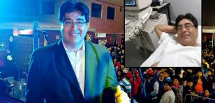 Lucho Paz vuelve a recaer por problemas del corazón