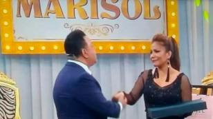 Marisol agradeció el homenaje que recibió por su carrera