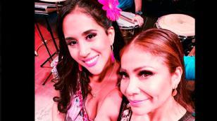 Marisol compartió fotos con elenco de 'Ojitos Hechiceros'