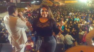 Marisol hizo bailar a todo Huaral (VIDEO)