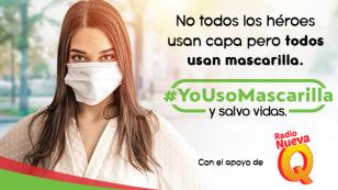 #YoUsoMascarilla, la campaña que puede salvar vidas