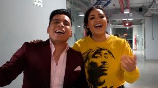 Michelle Soifer y Víctor Yaipén cantaron un extracto de 'Tu falta de querer' (VIDEO)