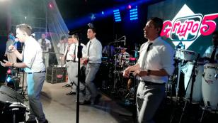 ¡Así fue el concierto 'QQQumbia con el Grupo5 EN VIVO' en La Merced! (VIDEO)