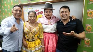 ¡Mira el encuentro entre Rosita de Espinar y su doble en 'Qumbias y Risas'! (VIDEO)