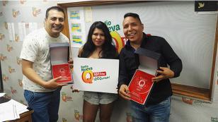 ¡Mira el premio que recibió Briyit y su Banda en 'Qumbias y Risas'!