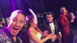 ¡Mira la presentación de Ráfaga en el matrimonio de Magaly Medina! (VIDEO)
