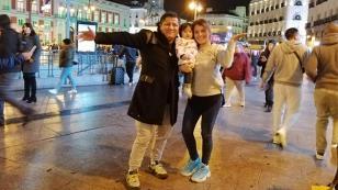 ¡Mira la tierna foto de la esposa e hija de Robert Muñoz!