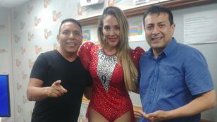 Nancy Castelo 'La Garotinha' se vaciló en 'Qumbias y Risas' (VIDEO)
