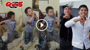 Niño canta y baila como el Grupo 5