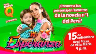 ¡No te pierdas la oportunidad de conocer a tus actores de la telenovela 'Mi Esperanza'!