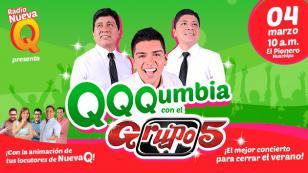 ¡Nueva Q refresca tu verano con este conciertazo: Q Q Qumbia con el Grupo5!