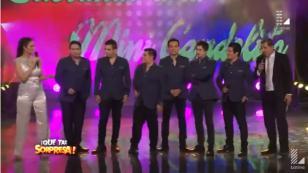 Orquesta Candela formó parte de la sorpresa a un artista de circo (VIDEO)
