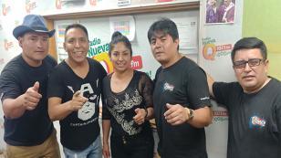 Orquesta Force Perú estuvo con Edwin Sierra en 'Qumbias y Risas' (VIDEO)