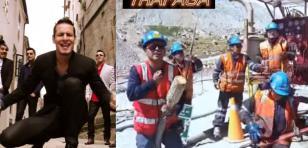 Mineros peruanos  parodiaron 'Una cerveza' de Ráfaga