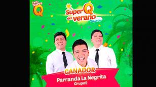 ¡'Parranda La Negrita' se consagró como La Súper Q del Verano 2018!