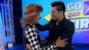 Payasito cumplió su sueño: conocer a Deyvis Orosco (VIDEO)