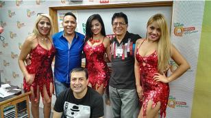 ¡Pintura Roja cantó 'Amárrame' en 'Qumbias y Risas'! (VIDEO)