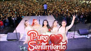 Puro Sentimiento brindó multitudinario concierto en Huánuco (VIDEO)