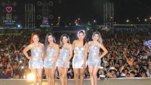 ¡Mira las fotos del concierto de Puro Sentimiento en Pichari!