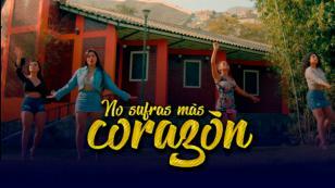 Puro Sentimiento estrenó el video oficial de 'No sufras más corazón'