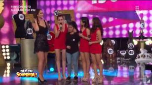 Puro Sentimiento sorprendió a joven cantante (VIDEO)